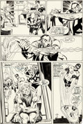 Original Comic Art:Panel Pages, Neal Adams Green Lantern #85 Story Page 10 Original Art (DC,1971)....
