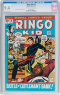 Bronze Age (1970-1979):Western, The Ringo Kid #16 (Marvel, 1972) CGC NM 9.4 Off-white to white pages....