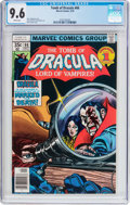 Bronze Age (1970-1979):Horror, Tomb of Dracula #66 (Marvel, 1978) CGC NM+ 9.6 White pages....