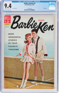 Silver Age (1956-1969):Romance, Barbie and Ken #4 (Dell, 1963) CGC NM 9.4 Off-white to whitepages....