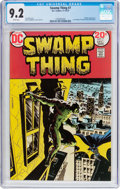Bronze Age (1970-1979):Horror, Swamp Thing #7 (DC, 1973) CGC NM- 9.2 White pages....