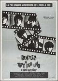 "Movie Posters:Rock and Roll, A Hard Day's Night (GiangiFilm, R-1982). Italian 2 - Fogli (39.25""X 55""). Rock and Roll.. ..."