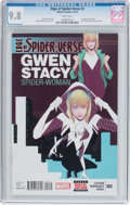 Modern Age (1980-Present):Superhero, Edge of Spider-Verse #2 (Marvel, 2014) CGC NM/MT 9.8 Whitepages....