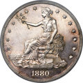 Proof Trade Dollars, 1880 T$1 PR63 PCGS. CAC....