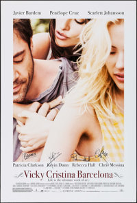 """Vicky Cristina Barcelona & Other Lot (The Weinstein Company, 2008). Autographed One Sheets (2) (27"""" X 40&qu..."""