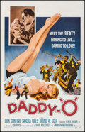 "Movie Posters:Exploitation, Daddy-""O"" (American International, 1959). One Sheet (27"" X 41"").Exploitation.. ..."