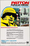 "Movie Posters:War, Patton (20th Century Fox, 1970). Poster (40"" X 60"") Style C. War....."