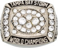 Football Collectibles:Others, 1993 Tampa Bay Storm Arena Bowl Ring....