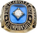Baseball Collectibles:Others, 1996 Pacific Coast League Umpire's Ring. ...