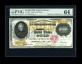 Large Size:Gold Certificates, Fr. 1225 $10000 1900 Gold Certificate PMG Choice Uncirculated64....
