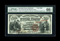 National Bank Notes:Kentucky, Bowling Green, KY - $20 1882 Brown Back Fr. 504 The Citizens NB Ch.# (S)5900. ...