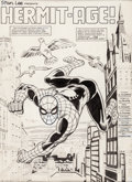Original Comic Art:Splash Pages, Herb Trimpe and Jim Mooney Spectacular Spider-Man #97 SplashPage 1 Original Art (Marvel, 1984)....