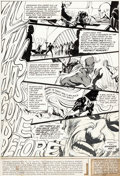 Original Comic Art:Panel Pages, Neal Adams Strange Adventures #216 Story Page 1 DeadmanOriginal Art (DC, 1969)....