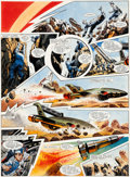 Original Comic Art:Panel Pages, Frank Bellamy TV Century 21 #146 Page 18 ThunderbirdsOriginal Art (IPC, 1967)....
