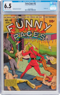 Funny Pages #40 (Centaur, 1940) CGC FN+ 6.5 Cream to off-white pages