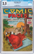 Golden Age (1938-1955):Humor, Comic Pages V3#4 (Centaur, 1939) CGC GD+ 2.5 Brittle pages....