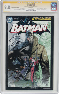 Batman #608 Retailer Incentive Edition - Signature Series (DC, 2002) CGC NM/MT 9.8 White pages