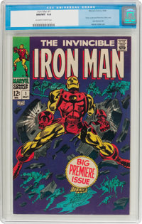 Iron Man #1 (Marvel, 1968) CGC NM/MT 9.8 Off-white to white pages