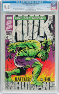 Silver Age (1956-1969):Superhero, The Incredible Hulk Annual #1 Northland Pedigree (Marvel, 1968) CGCNM/MT 9.8 Off-white pages....