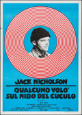 "Movie Posters:Academy Award Winners, One Flew Over the Cuckoo's Nest (United Artists, R-1970s). Italian 2 - Fogli (39.25"" X 55""). Academy Award Winners.. ..."