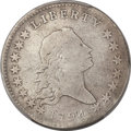 Early Half Dollars, 1794 50C O-101a, T-7, High R.3 -- Cleaning -- PCGS Genuine. VGDetails....
