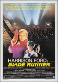 "Movie Posters:Science Fiction, Blade Runner (Warner Brothers, 1982). Italian 2 - Fogli (39"" X55""). Science Fiction.. ..."