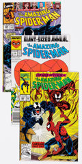 Modern Age (1980-Present):Superhero, The Amazing Spider-Man Group of 26 (Marvel, 1990-92) Condition:Average NM-.... (Total: 26 Comic Books)