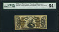 Fractional Currency:Third Issue, Fr. 1342 50¢ Third Issue Spinner Type II PMG Choice Uncirculated 64 Net.. ...