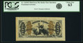 Fractional Currency:Third Issue, Fr. 1343SP 50¢ Third Issue Justice Wide Margin Face PCGS Choice New 63.. ...