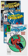 Modern Age (1980-Present):Superhero, The Amazing Spider-Man Group of 22 (Marvel, 1988-89) Condition:Average NM-.... (Total: 22 Comic Books)