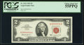 Small Size:Legal Tender Notes, Low Serial Number A00000034A Fr. 1513 $2 1963 Legal Tender Note. PCGS Choice About New 55PPQ.. ...