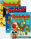 Bronze Age (1970-1979):Cartoon Character, Rudolph, The Red-Nosed Reindeer Treasury Group of 6 (DC, 1970s)....(Total: 6 Comic Books)