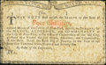 Colonial Notes:New York, New York January 6, 1776 (Water Works) 4s Good-Very Good.. ...