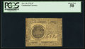 Colonial Notes:Continental Congress Issues, Continental Currency November 29, 1775 $7 PCGS About New 50.. ...