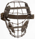Baseball Collectibles:Others, Early 1900's Baseball Catchers Mask. ...