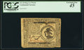 Colonial Notes:Continental Congress Issues, Continental Currency May 9, 1776 $3 PCGS Extremely Fine 45.. ...