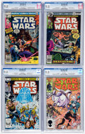 Bronze Age (1970-1979):Science Fiction, Star Wars CGC-Graded Group of 4 (Marvel, 1978-86) Condition: CGC VF/NM 9.0.... (Total: 4 Comic Books)