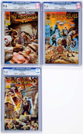 Modern Age (1980-Present):Miscellaneous, Nazi Werewolves from Outer Space #1-3 CGC-Graded Group (Trauma Comics, 2011-13).... (Total: 3 Comic Books)