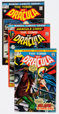 Bronze Age (1970-1979):Horror, Tomb of Dracula Group of 30 (Marvel, 1972-79) Condition: AverageVG/FN.... (Total: 30 Comic Books)