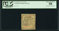 Colonial Notes:Connecticut, Connecticut October 11, 1777 2d Uncancelled PCGS Choice About New 58.. ...