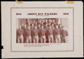 Football Collectibles:Photos, 1931 Green Bay Packers Wadhams Supplement Photograph. ...