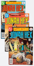 Bronze Age (1970-1979):Western, Jonah Hex #1-18 Group (DC, 1977-78) Condition: Average FN-.... (Total: 18 Comic Books)