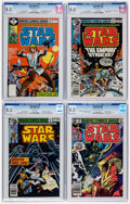 Bronze Age (1970-1979):Science Fiction, Star Wars CGC-Graded Group of 4 (Marvel, 1978-82).... (Total: 4 Comic Books)