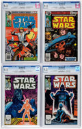 Bronze Age (1970-1979):Science Fiction, Star Wars CGC-Graded Group of 4 (Marvel, 1978-84) Condition: CGC NM- 9.2.... (Total: 4 Comic Books)