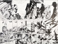 Original Comic Art:Splash Pages, Bart Sears and Rob Hunter Captain America and the Falcon #1Pages 2 and 3 Original Art (Marvel, 2004)....
