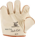 Baseball Collectibles:Others, Babe Ruth G-41 Draper-Maynard Replica Fielder's Glove....