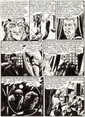 Original Comic Art:Panel Pages, Graham Ingels Tales From the Crypt #24 Story Page 5 OriginalArt (EC, 1951). ...