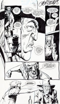 Original Comic Art:Panel Pages, Steve Dillon Preacher #3 Story Page 17 Saint of Killers andCassidy Original Art (DC/Vertigo, 1995)....