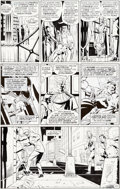 Original Comic Art:Panel Pages, Dave Gibbons Watchmen #11 Story Page 24 Original Art (DC,1987). ...