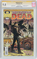 Modern Age (1980-Present):Horror, The Walking Dead #1 Signature Series (Image, 2003) CGC NM/MT 9.8White pages....